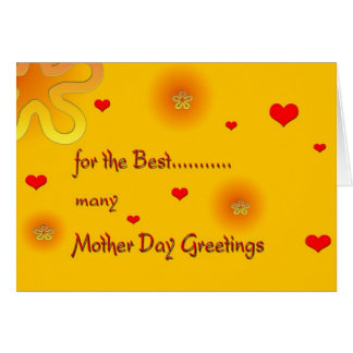 MotherDayGreetings Greeting Card