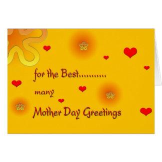 MotherDayGreetings Grußkarte