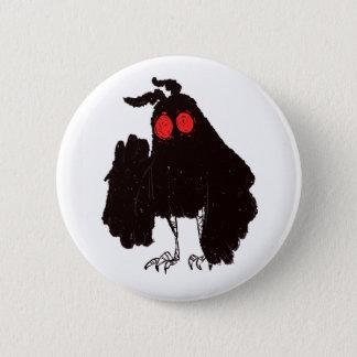 Mothman Knopf Runder Button 5,1 Cm
