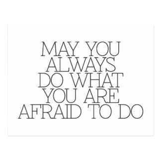 Motivation, Inspiration, Wörter von Klugheit. Postkarte