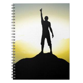 Motivational Spiralenotizbuch Spiral Notizbücher