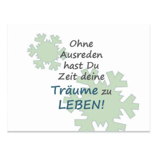 Motivationskarte mit tollen Spruch Postkarte