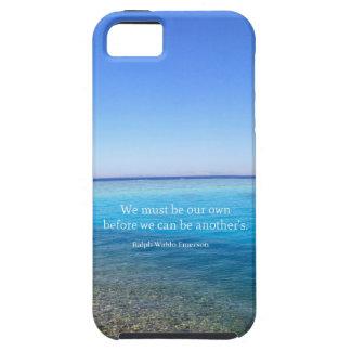 Motivierend aufmunterndes Lebenzitat iPhone 5 Hülle