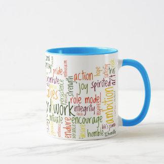 Motivierend Bestimmtheit der Wort-#2 an jedem Tasse