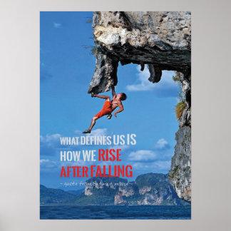 Motivierend Bodybuildings-Turnhallen-Plakat