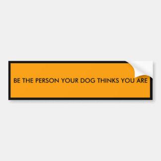 Motivierend HundeAutoaufkleber Autoaufkleber