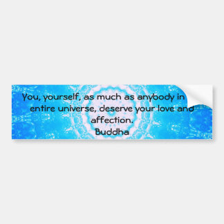 Motivierend Inspirational Buddha-Zitat Autoaufkleber