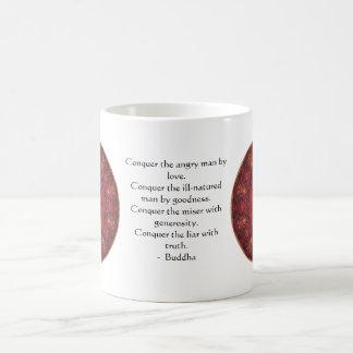 Motivierend Inspirational Buddha-Zitat Kaffeetasse