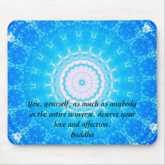 Motivierend Inspirational Buddha-Zitat Mauspads
