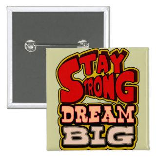 motivierend, inspirational, redigieren Sie Quadratischer Button 5,1 Cm
