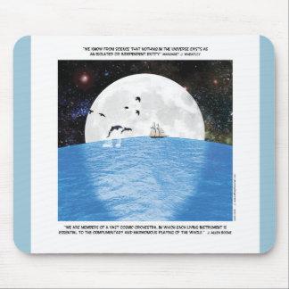 Motivierend Mond-Comic Mousepads