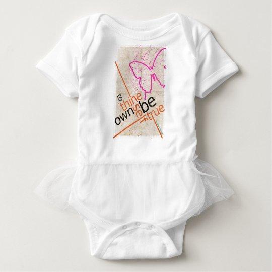 Motivierend Plakat Baby Strampler