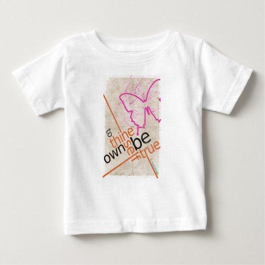 Motivierend Plakat Baby T-shirt