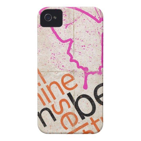 Motivierend Plakat Case-Mate iPhone 4 Hülle