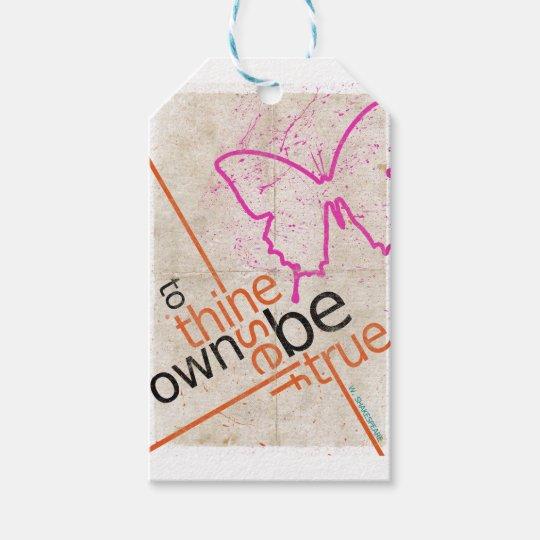Motivierend Plakat Geschenkanhänger