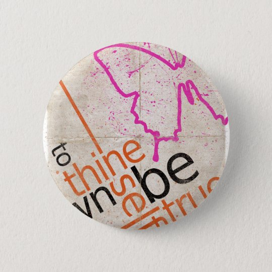 Motivierend Plakat Runder Button 5,1 Cm