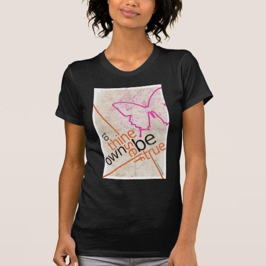 Motivierend Plakat T-Shirt