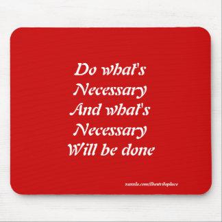 Motivierend Slogans Mousepads