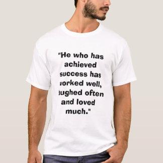 Motivierend T-Shirt