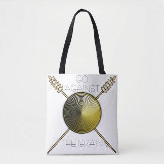 Motivierend volle Druck-Taschen-Tasche (weiß) Tasche