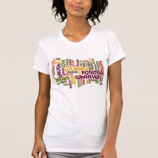 Motivierend Wörter #1 - positive Haltung T Shirts