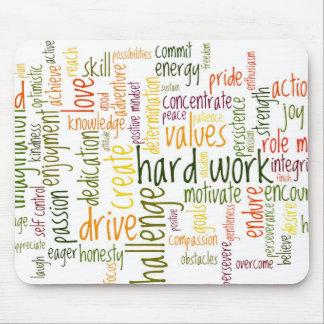 Motivierend Wörter #2 mousepad