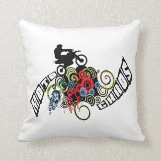 Moto Chaos-Schmutz-Fahrrad-Reiter Kissen