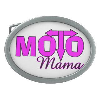 Moto Mutter Ovale Gürtelschnallen