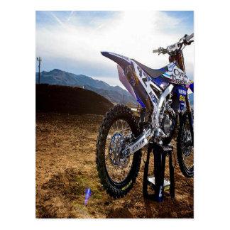 Motobike Postkarte