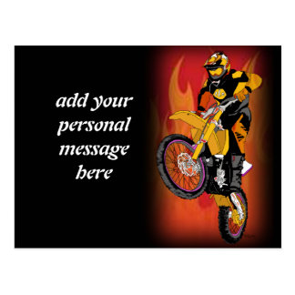 Motocross 403 postkarte
