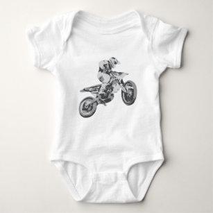 Motocross Baby Strampler