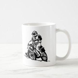 Motocross-Motorrad Kaffeetasse