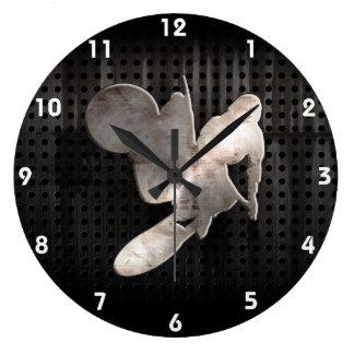 Motocross-Peitsche; Cooles Schwarzes Uhren