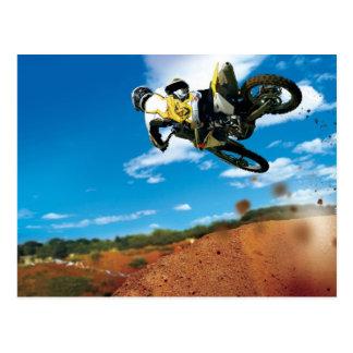 Motocross Postkarte