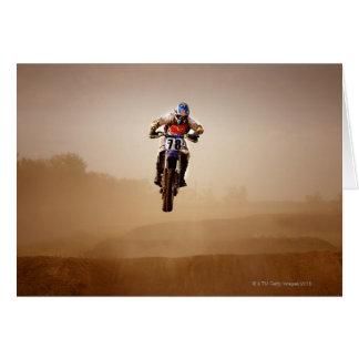 Motocross-Reiter Karte