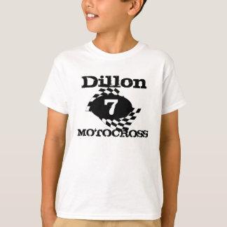 Motocross-Rennen-Flagge T-Shirt