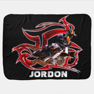 Motocross-Rennläufer Puckdecke
