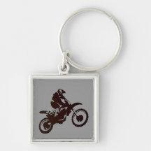 Motocross Schlüsselband