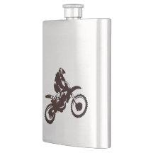 Motocross Taschenflaschen