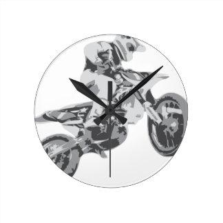 Motocross Wanduhren