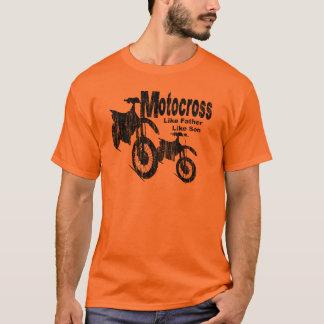 Motocross-Vater/Sohn T-Shirt