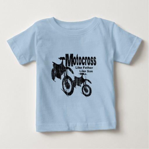 motocross vater sohn t shirt zazzle. Black Bedroom Furniture Sets. Home Design Ideas