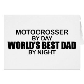 Motocrosser - der beste Vati der Welt bis zum Karte