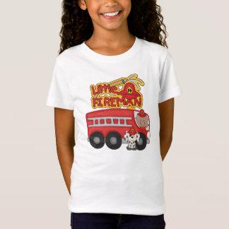 Motor-kleiner Feuerwehrmann-afrikanische T-Shirt