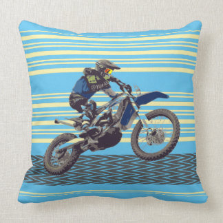 Motorcross Reiter Kissen