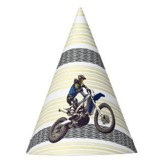 Motorcross Reiter Partyhütchen