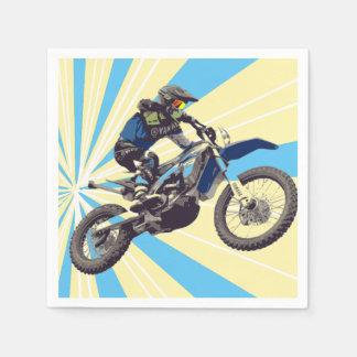 Motorcross Reiter Serviette