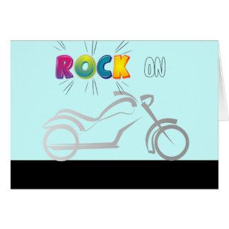 motorcyle Motorrad-Fahrradradfahrer Karte