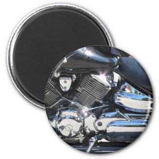 Motorrad chromierte Seitenansicht des Runder Magnet 5,1 Cm