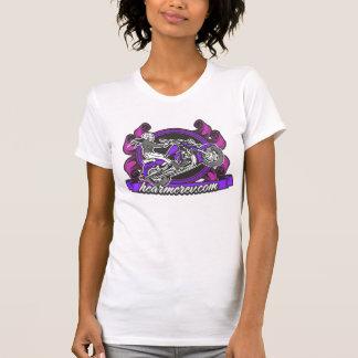 Motorrad-Dame Trägershirt Tshirts